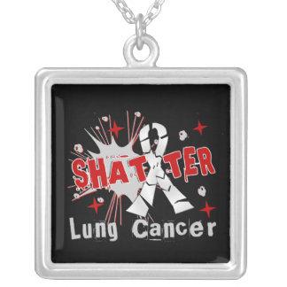 Collier Cancer de poumon d'éclat