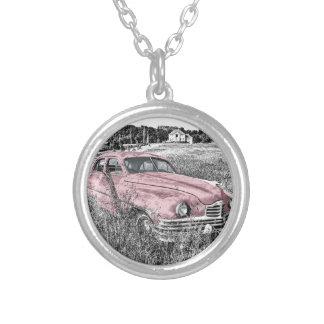 Collier Capot vintage de moteur de phare de voiture
