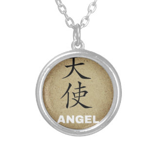 Collier Caractère chinois d'ange