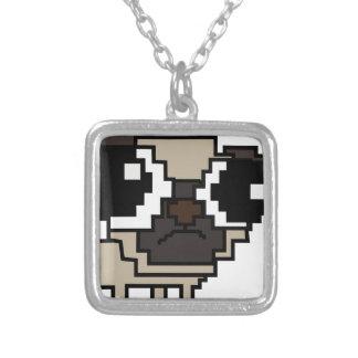 Collier carlin stupide de pixel
