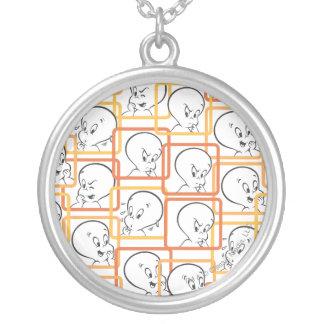 Collier Carrés d'orange de Casper