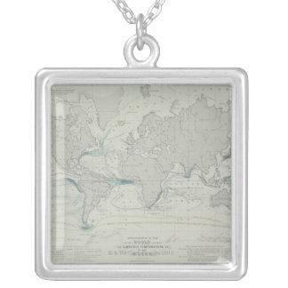 Collier Carte 7 du monde