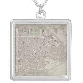 Collier Carte antique de la Belgique 2