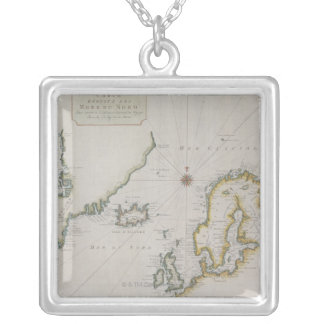 Collier Carte antique de la Scandinavie 2