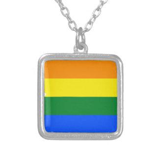 Collier Carte de drapeau de l'Arizona LGBT