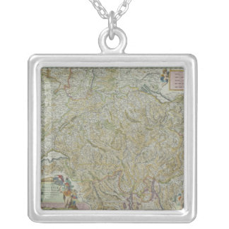 Collier Carte de la Suisse 2