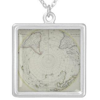 Collier Carte de l'Antarctique 2