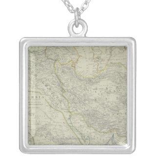 Collier Carte de Moyen-Orient