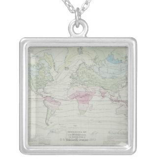 Collier Carte du monde 8