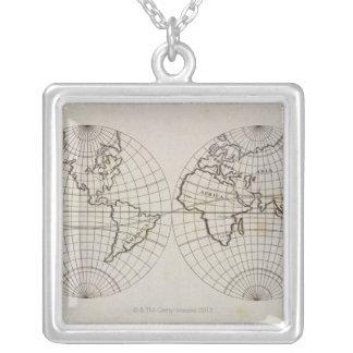Collier Carte stéréographique