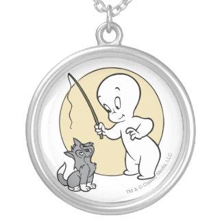 Collier Casper et chaton