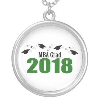 Collier Casquettes du diplômé 2018 de MBA et diplômes