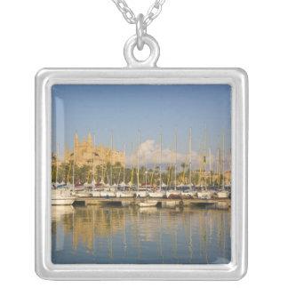 Collier Cathédrale et marina, Palma, Majorque, Espagne