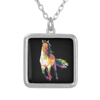 Collier Cavalier courant coloré d'étalon de cheval
