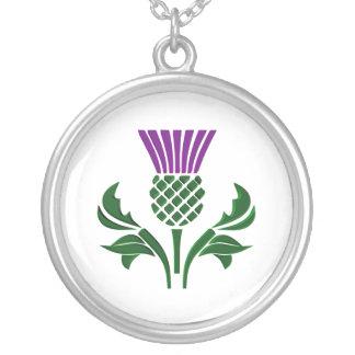 Collier Chardon écossais d'emblème