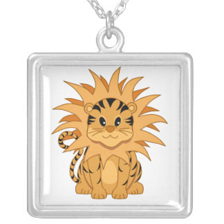 Collier Chat mignon de bande dessinée de Kawaii Liger
