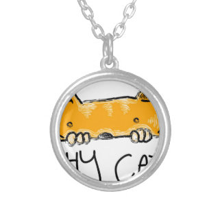 Collier chat timide