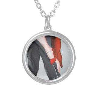 Collier Chaussure rouge de tango