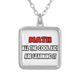 Collier Chemises et cadeaux drôles de professeur de maths