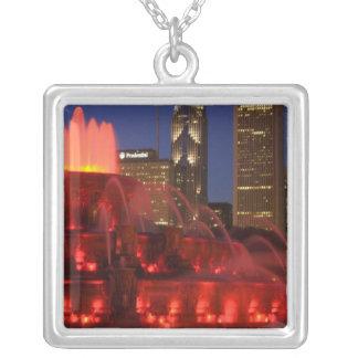 Collier Chicago, l'Illinois, fontaine de Buckingham