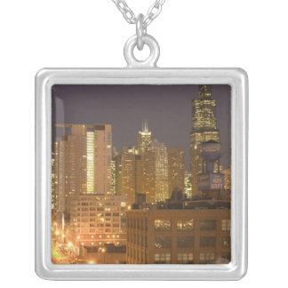 Collier Chicago, l'Illinois, horizon de la boucle