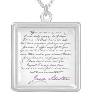 Collier Citation #1 de la persuasion de Jane Austen