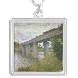 Collier Claude Monet | le pont de chemin de fer à