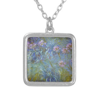 Collier Claude Monet - peinture classique de fleurs