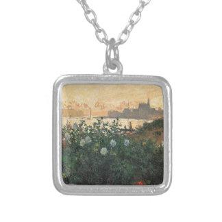 Collier Claude Monet - rive fleurie Argenteuil