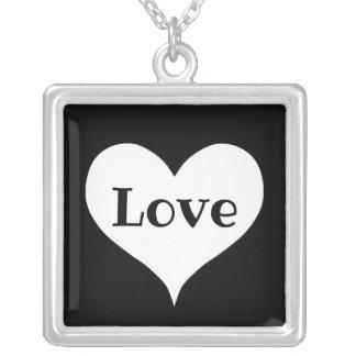 Collier Coeur élégant d'amour