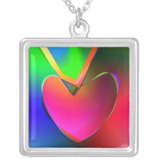 Collier Coeur sur une ficelle