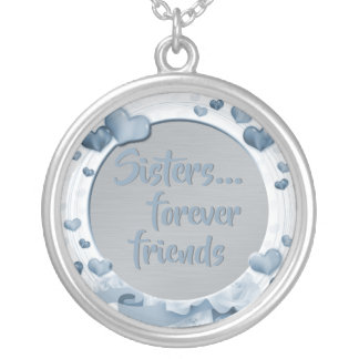 Collier Coeurs d'amis de la citation | de soeurs pour