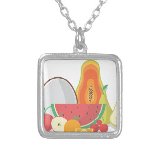 Collier Collection de fruit