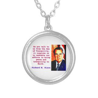 Collier Comme vous nous parlez - Richard Nixon