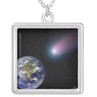 Collier Composé de Digitals d'un titre de comète vers l'ea