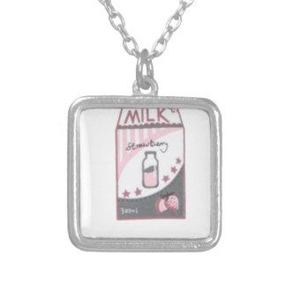 Collier Conception de Harajuku de lait de fraise