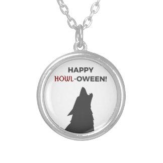 Collier Conception heureuse de Halloween de loup-garou