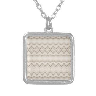 Collier Conception tribale de motif de zigzag de plume