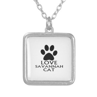 COLLIER CONCEPTIONS DE CAT DE LA SAVANE D'AMOUR