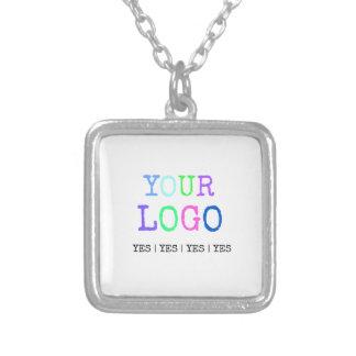 Collier Concevez votre propre logo personnalisé par