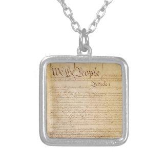 COLLIER CONSTITUTION DES USA