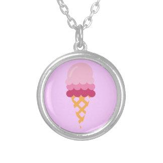 Collier Crème glacée de fraise
