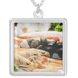 Collier Crevette et moules