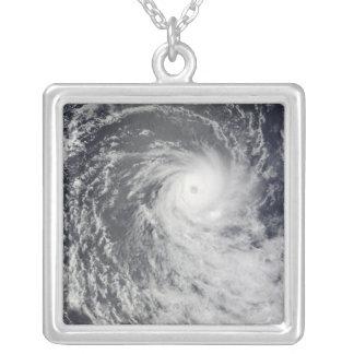 Collier Cyclone Anja au-dessus de l'Océan Indien du sud