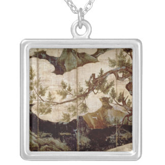 Collier Cypress par Kano Eitoku, période de Muromanchi