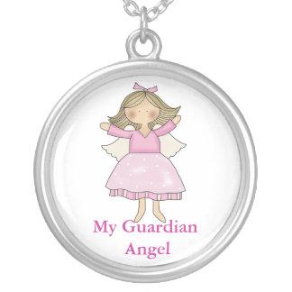 Collier d'ange gardien de petite fille