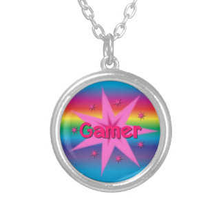 Collier d'arc-en-ciel de fille de Gamer