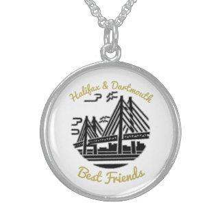 Collier de bourgeons de meilleurs amis de Halifax