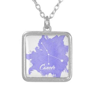 Collier de carré de pendentif de signe d'étoile de