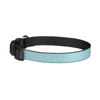 Collier de chien - élégance de bleu de bulle